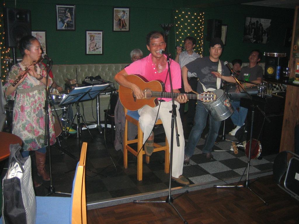 Samba at McLoughlin's