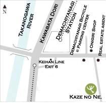 Kazenone map
