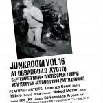 JunKroom Vol. 16 – This Friday!