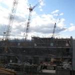 Construction at Umekoji Today…