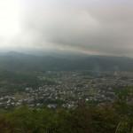 October on Mount Ogura