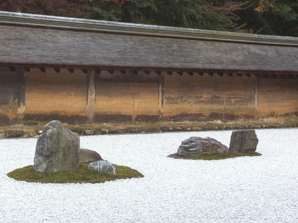 The Stone Garden at Ryoanji | deep kyoto