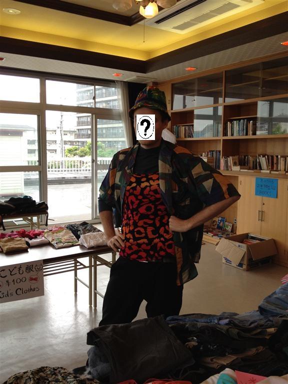Who was that mysterious & debonair volunteer?