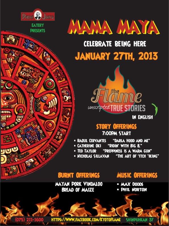 The Flame: Mama Maya