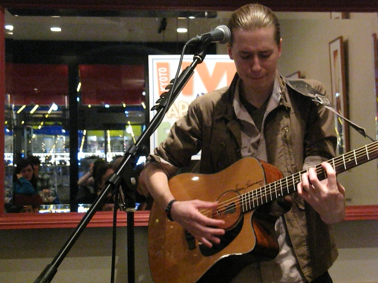 Jon Levy at Papa Jon's