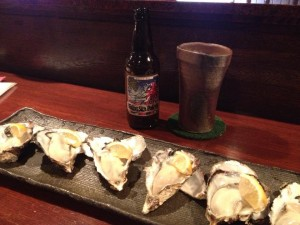 oysters and baird beer