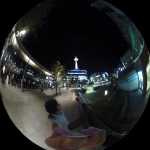 Exploring Kyoto with the Ricoh Theta