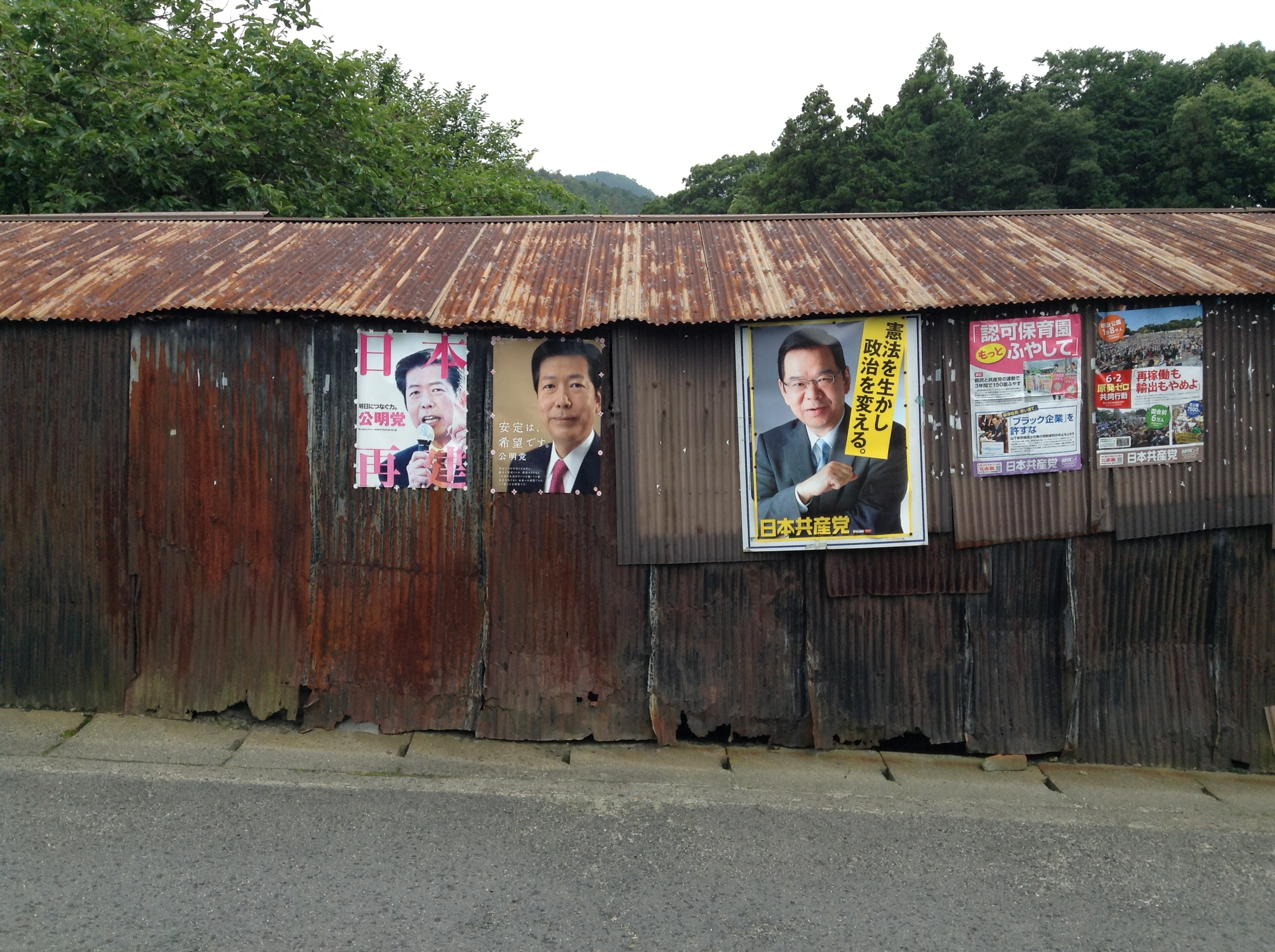 14.Corrugated Politicians