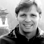 Chris Rowthorn in Bhutan