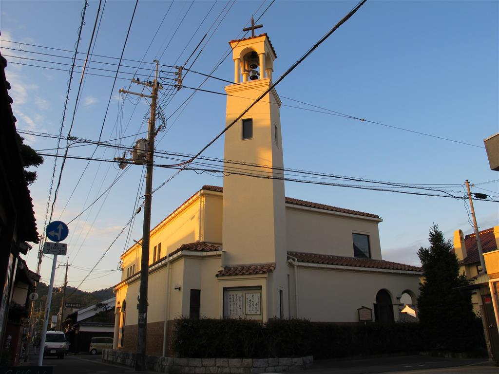 Vories built Ōmi Hachiman Church in September 1907.