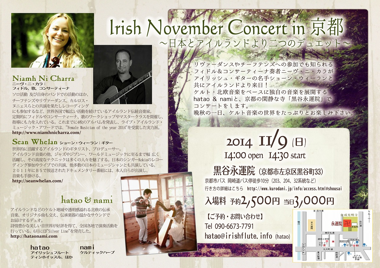 Irish November Concert