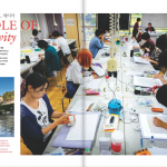 Seika University Manga Faculty Article in Morning Calm Magazine