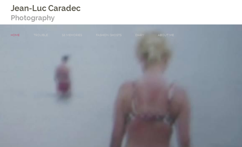 A screengrab from Jean-Luc Caradec's website. Click to view his photography.