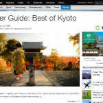 Deep Kyoto on CNN Travel