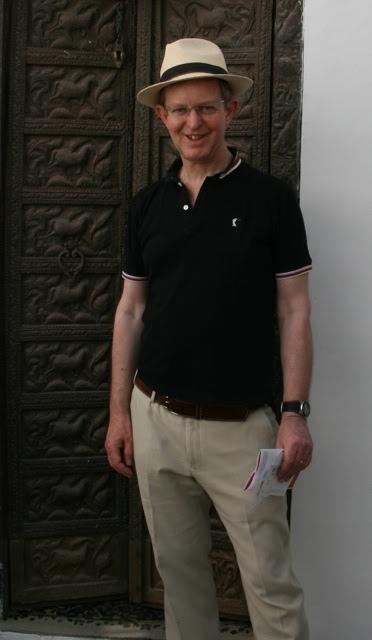 Peter Mallett of Kobe, whose 'Kimono Memories' took first prize