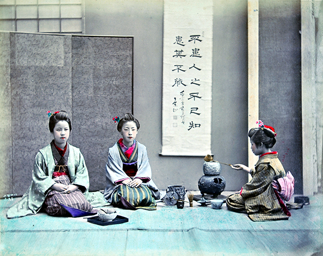 Shinichi Suzuki II, Tea Ceremony, 1880's © MNAAG.